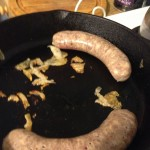 Sausages and Guanciale