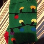 Holiday Lights Socks