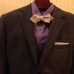 Suit and Bow Tie