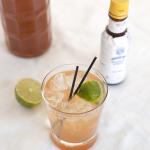 One Martini gin-and-tonic