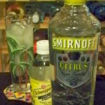 Spirited Remix Citrus VOdka and tonic