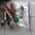 Handy Prepacked Toiletries