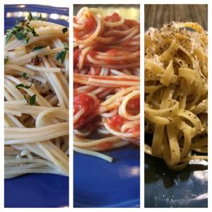 Pasta Trio