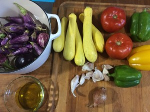 Ratatouille Mis en Place